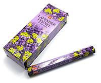 Аромапалочки  Lavender Fennel (Лаванда Фенхель) (Hem) (6/уп) шестигранник