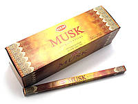 Аромапалочки  Musk (Мускус) (Hem) (25/уп) квадрат