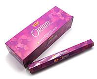 Ароматные палочки Opium (Опиум) (Hem) (6/уп) шестигранник