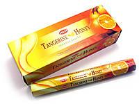 Аромапалочки  Tangerine Honey (Медовый мандарин) (Hem) (6/уп) шестигранник