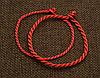 Красная нить - оберег красный браслет на удачу