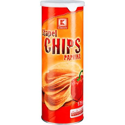 Чипсы K Classic со вкусом паприки 100g