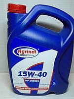 Минеральное дизельное масло 15W40 Агринол 5л