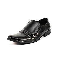 Туфли мужские AVET AV130 черная кожа