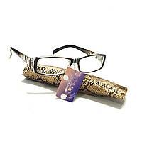 Корригирующие очки в футляре