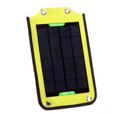 Портативная солнечная панель для зарядки мобильной электроники