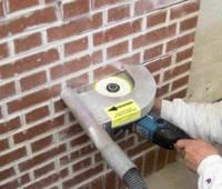 Штроблення цегляних стін для монтажу електропроводки