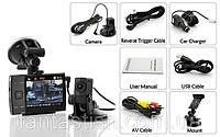 Авторегистратор  S3000 A + 2 камеры-присоски LUO /00-96
