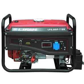 Генератор Lifan LF2.8GF-7ES газ/бензин