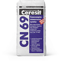 Самовыравнивающаяся смесь для полов с подогревом 3-15 мм Ceresit CN 69 , 25 кг