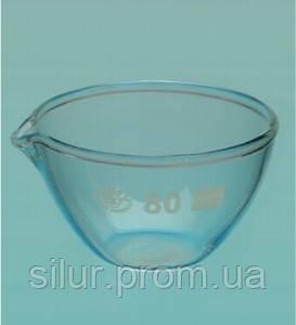 Чаша выпарная плоскодонная с носиком 50 мл (ЧВП-1-50)