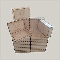 Изготовление подарочной упаковки с нанесением бренда, логотипа компании