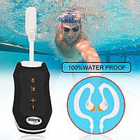 Плеєр водонепроникний S99 для басейну IPX8 на 8гб і FM (плеєр для плавання, дайвінгу), фото 1