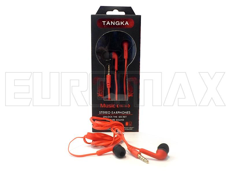 Наушники вакуумные с микрофоном Tangka TK-16