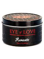 Массажная свеча с феромонами Eye of Love Romantic Massage Candle 150 ml, фото 1