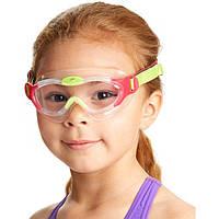 Очки (полумаска) для плавания детские SPEEDO  SEA SQUAD MASK (CP, TPR, неопрен, цвета в ассортименте)