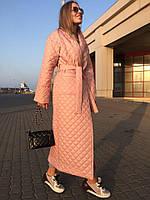 Стёганное пальто на синтепоне 150 3 расцветки фото реал ,супер качество акор № 5086