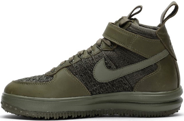 Мужские кроссовки Nike Wmns Lunar Force 1 Flyknit Workboot Medium Olive