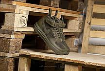 Мужские кроссовки Nike Lunar Force 1 Flyknit Workboot Medium Olive 860558-200, Найк Аир Форс, фото 3
