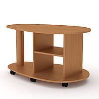 Стол журнальный Капля (Компанит) 1005х600х540мм