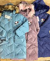 Куртка на меховой подкладке для девочек Grace оптом, 8-16 лет.