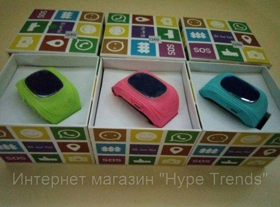 OLED! Русифицированные Детские часыSmart Watch Q50