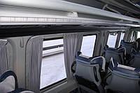 Автомобильные шторы Sprinter/Спринтер серые на 2 окна