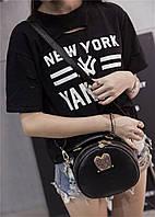 Женская сумка через плечо с ушками