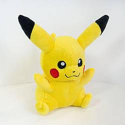 М'яка іграшка Покемон Пікачу з закритим ротом