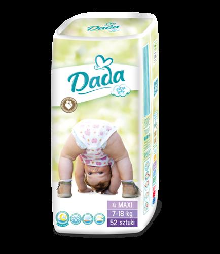 Подгузники Dada Extra Soft 4 (7-18 кг) 52 шт., цена 205 грн., купить ... 889df0048fa