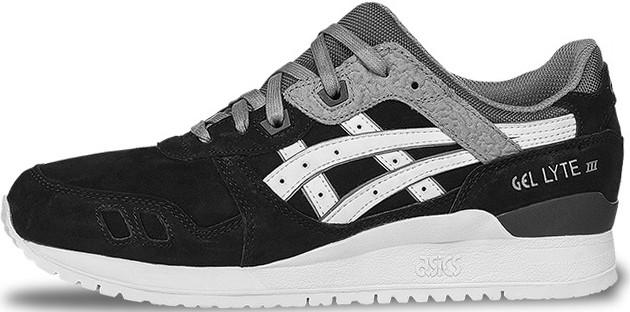 Мужские кроссовки Asics Tiger Men Gel Lyte III Black/Soft Grey