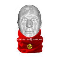 Горловик шапка / Горловик для футбола Манчестер Юнайтед