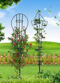 Опоры для садовых вьющихся растений