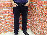 Джинсы мужские Wrangler-Wrander тёмно-синие вельвет. В наличии 32,33 размер.
