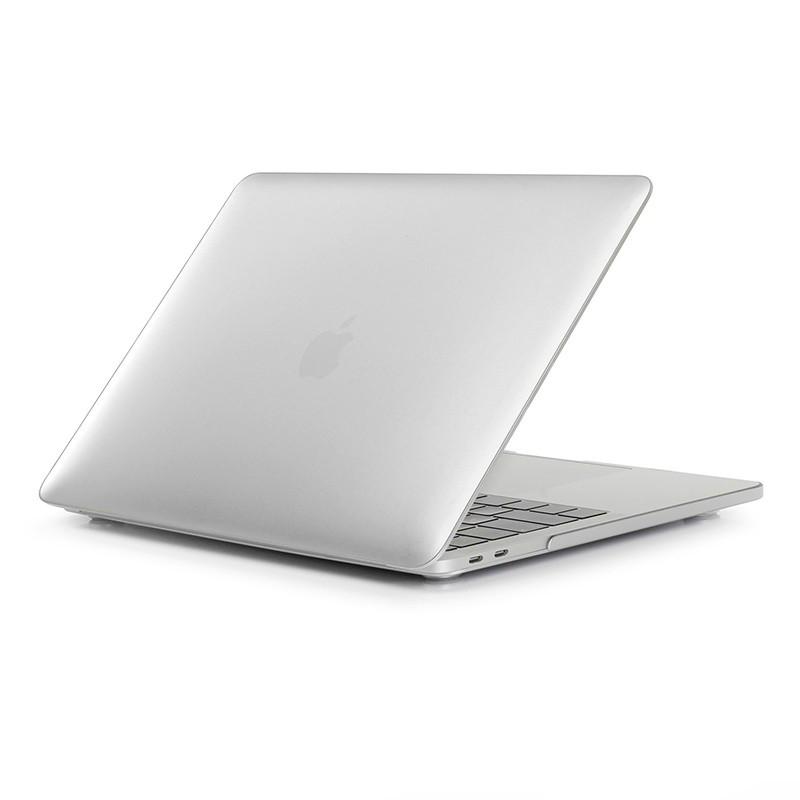 Пластиковый чехол Soft Touch Metallic Silver для Macbook Pro 13'' (2016/2017)