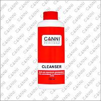 Жидкость для снятия липкого слоя Canni Cleanser 3 в 1, 250 мл