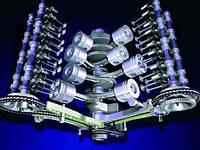 Детали двигателя автомобиля, фото 1