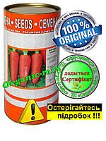 Семена моркови Королева осени инкрустированные 500 г в фермерской банке, фото 1