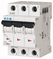 Автоматический выключатель 3-полюсный PL6-C50/3 Moeller-EATON ((CM))(286606-)3/50, 286606