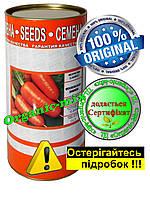 Семена моркови Московская зимняя, инкрустированные, ТМ Витас, 500 г в фермерской банке