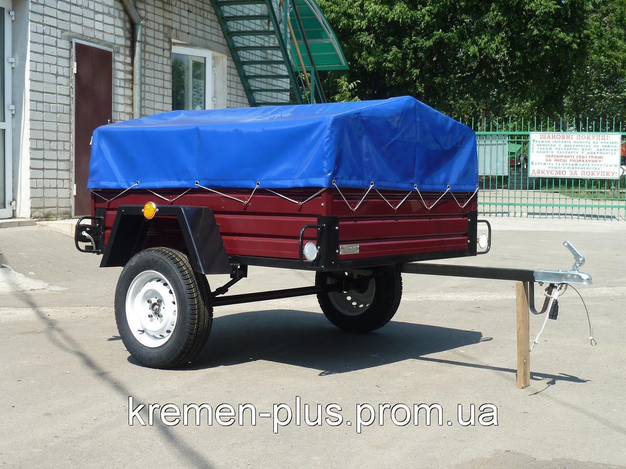 Продам одноосный легковой прицеп в Сумах для автомобиля