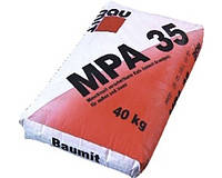 Baumit MPA-35 цементно-известковая штукатурная смесь для наружных работ, 25 кг