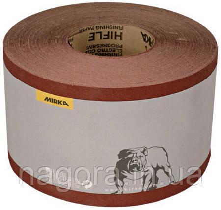 MIRKA HIFLEX P100 Бумага наждачная в рулоне (темный бордо) 115мм. х 50м