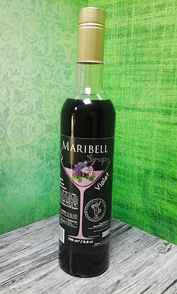 Сироп барный тм «Maribell» Фиалка, фото 2