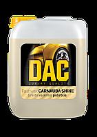 Поліроль швидкої дії з воском бразильської пальми карнауби «Carnauba shine» DAC, 5 л.