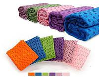 Коврик полотенце для йоги и фитнеса 183*61 см 245145 s