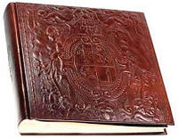Фотоальбом ручной работы Philip Laurence Medici 30х30 см PL203002fa темно-коричневый
