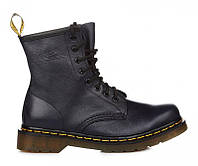 "Ботинки женские Dr. Martens Zip Boots NAVY ""VEGAN""  (Доктор Мартенс)"