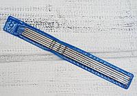 Спицы носочные металлические 5шт. 3мм