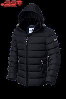 """Куртка мужская зимняя, с мутоновым воротником, Braggart """"Dress Code"""" чёрная, в ассортименте"""